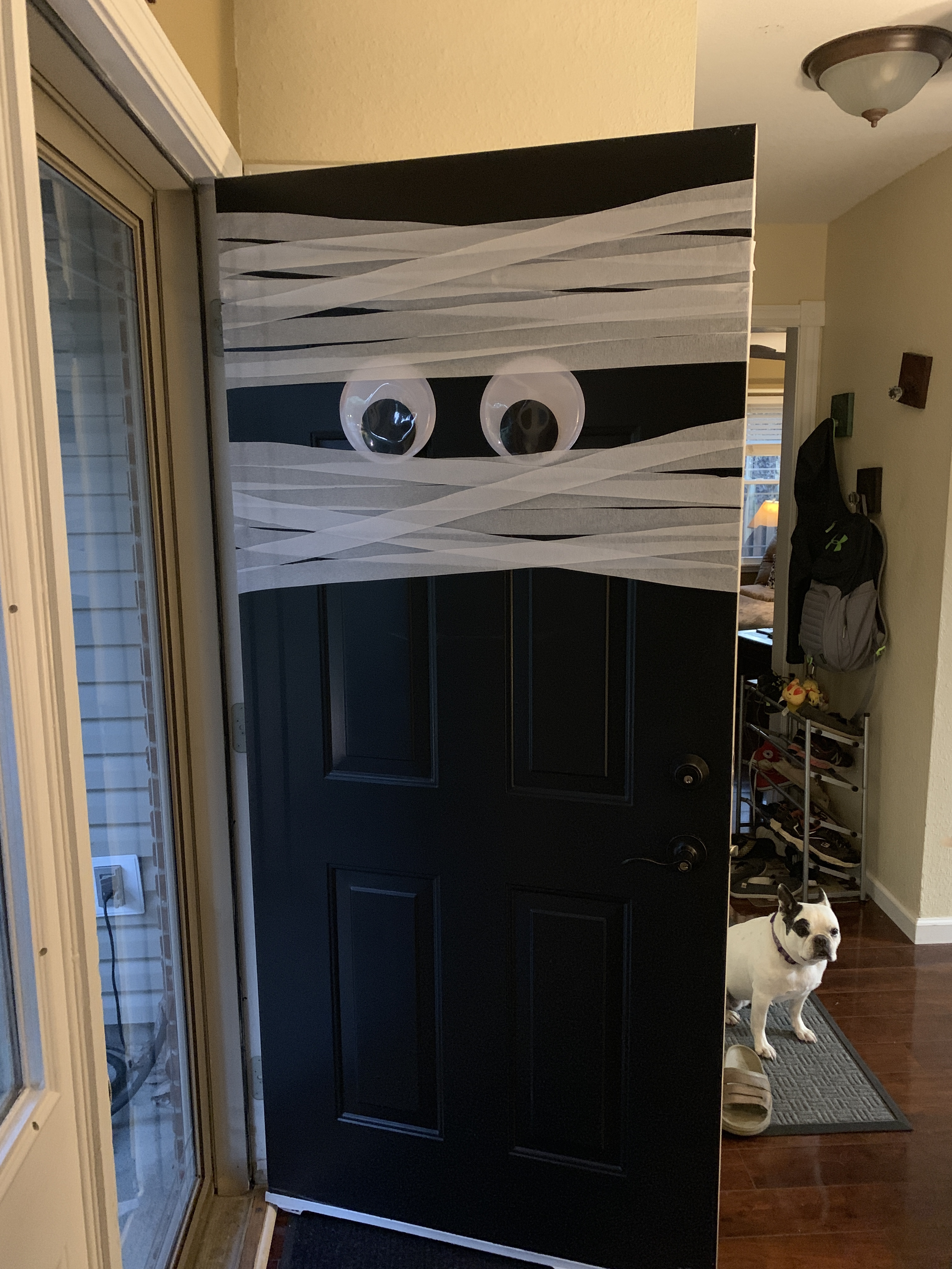 Beginning of the Mummy Door