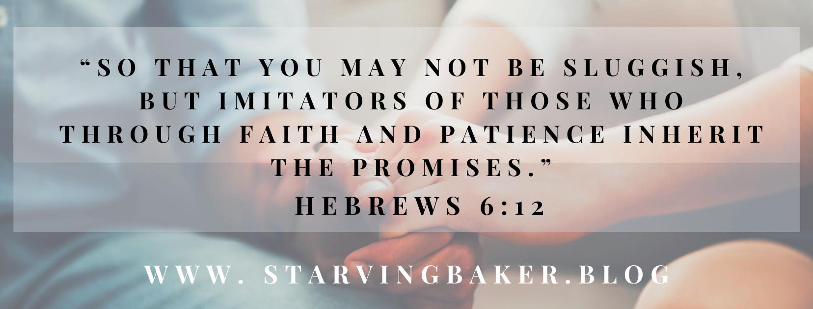 Hebrew 6:12
