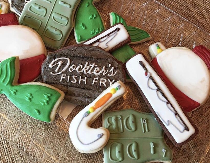 Docktor's fish fry cookies