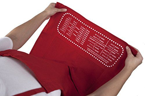 The Smart Baker Cheat Sheet Baking Apron