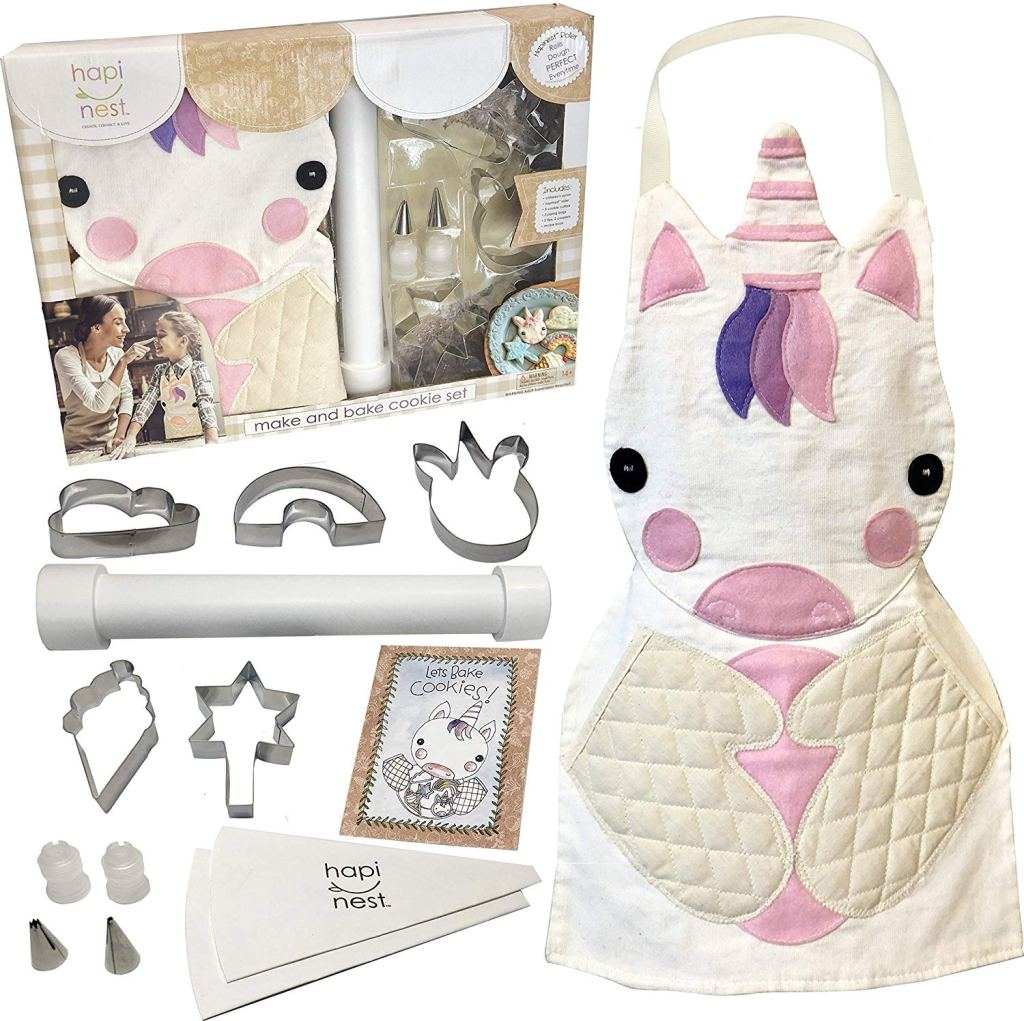 Hapinest Kids Unicorn Baking Set