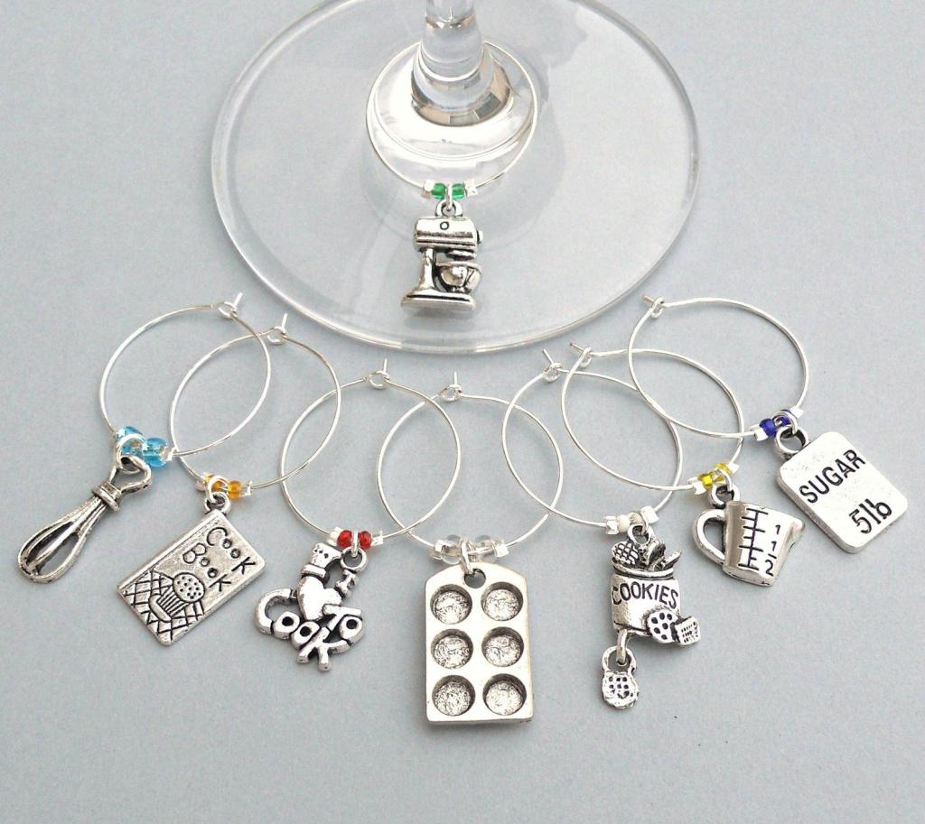 Cooking wine charms
