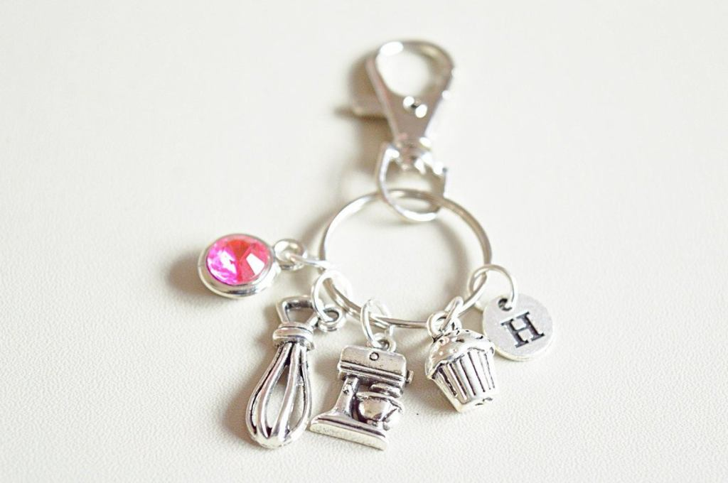 Bakers Charm Key Ring