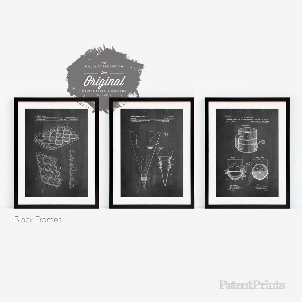 Baking Patent Posters
